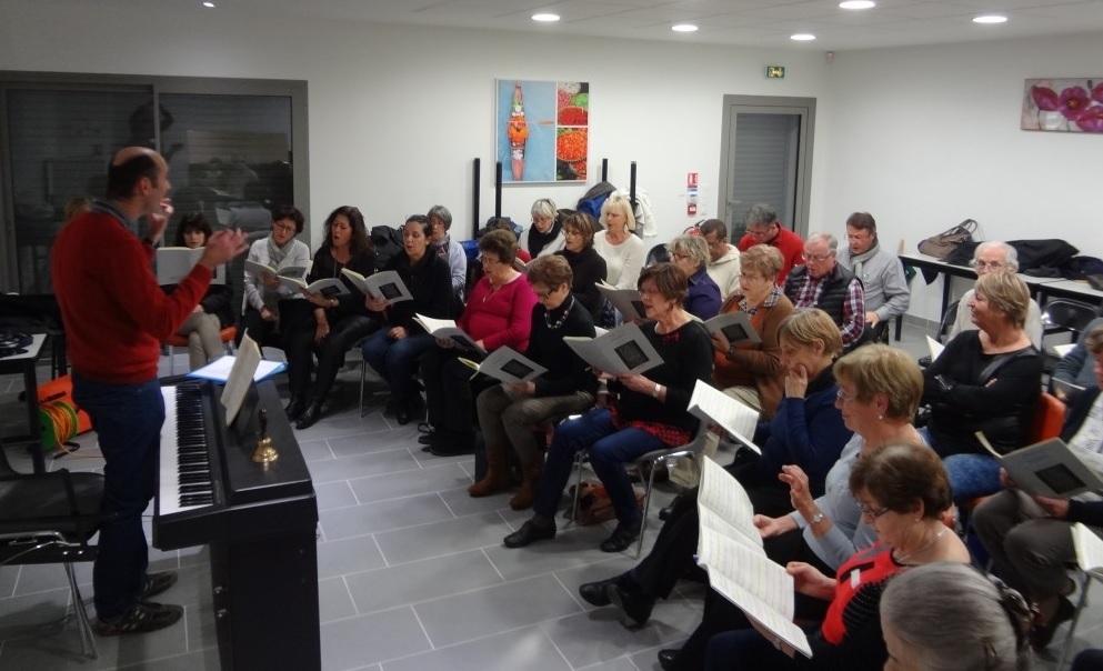 répétition chœur Arioso