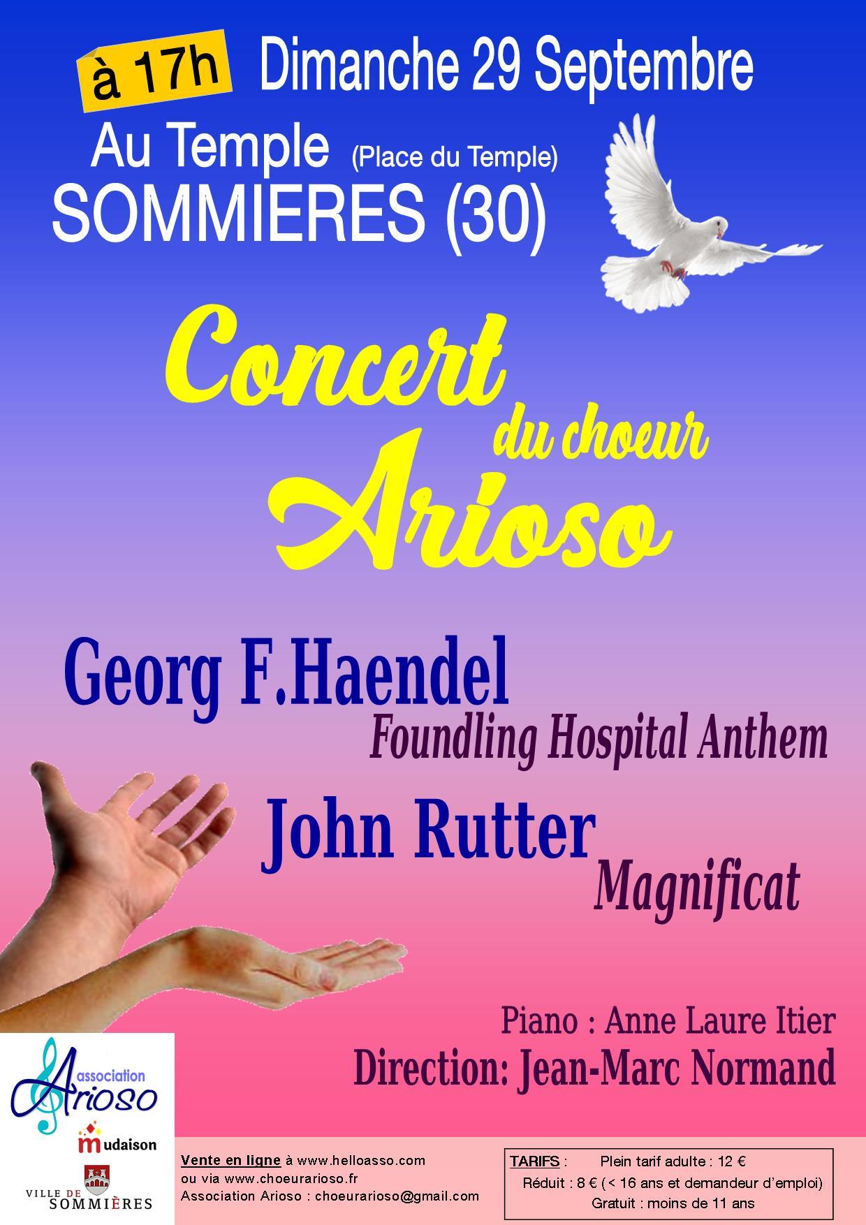 Concert Haendel-Rutter Sommières